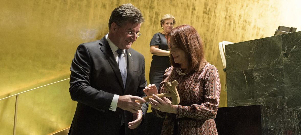 Mujer Latinoamericana asume la Presidencia de la Asamblea General de la ONU.