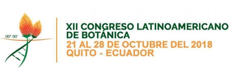 XII CONGRESO LATINOAMERICANO DE BOTÁNICA SE REALIZARÁ EN ECUADOR