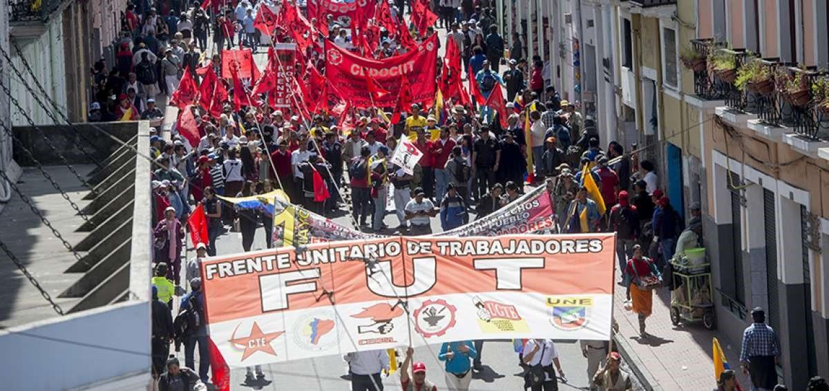 Continúan marchas en contra del gobierno, tras segunda fase de diálogo.