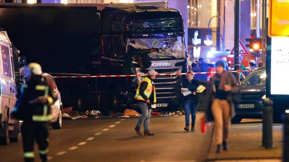 Alemania sufre ataque terrorista.