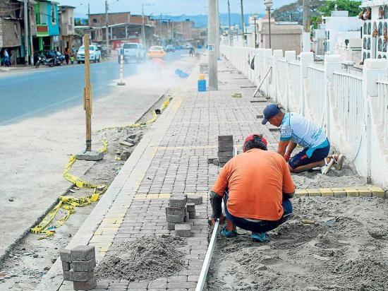 La avenida de los choferes tendrá nuevas veredas