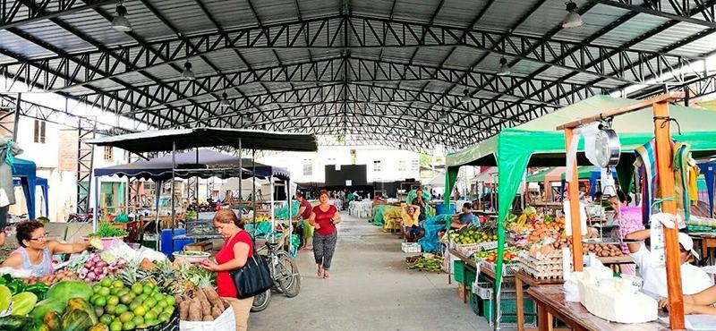Mercado de Rocafuerte cerrará sus puertas