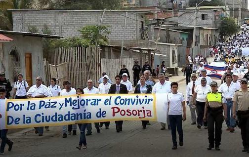 Pasorja organiza marcha por la paz
