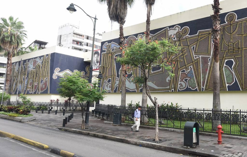 Artistas no videntes se presentan en Guayaquil.