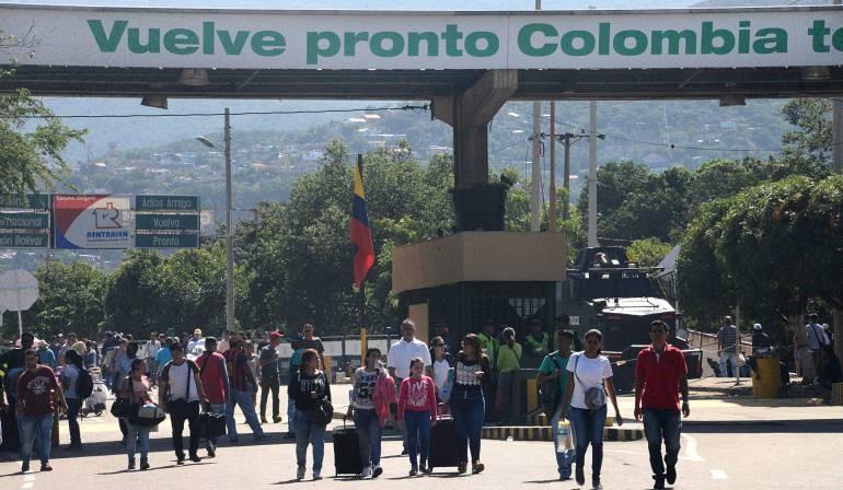 Expulsan a venezolanos de Colombia por disturbios.