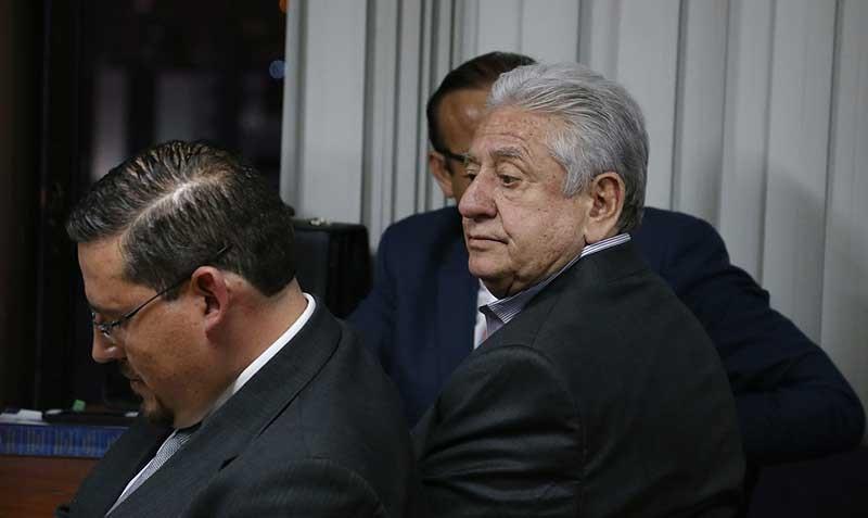 Luis Chiriboga fue trasladado a la cárcel de la Latacunga.