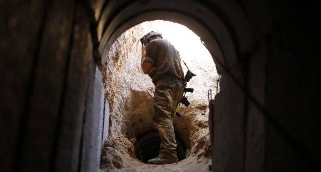 EJÉRCITO ISRAELI DESCUBRE TUNEL DE 200 METROS DESDE LÍBANO A ISRAEL.