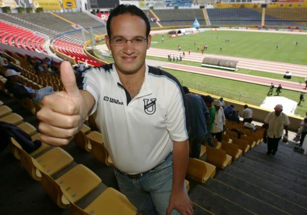 Francisco Egas único postulante para directorio de la FEF.