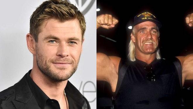 Chris Hemsworth subirá al cuadrilátero para interpretar al famoso Hulk Hogan.