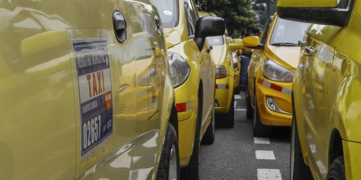 Gremio de taxistas anuncia fecha para nueva movilización.