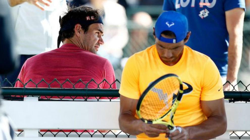El clásico duelo en el tenis se repite Nadal vs Federer, se disputan más que un partido.