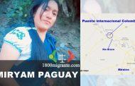 El Cuerpo de Myriam Paguay fue hallado en México