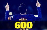 Messi no para de hacer historia y llega a los 600 goles a nivel clubes.
