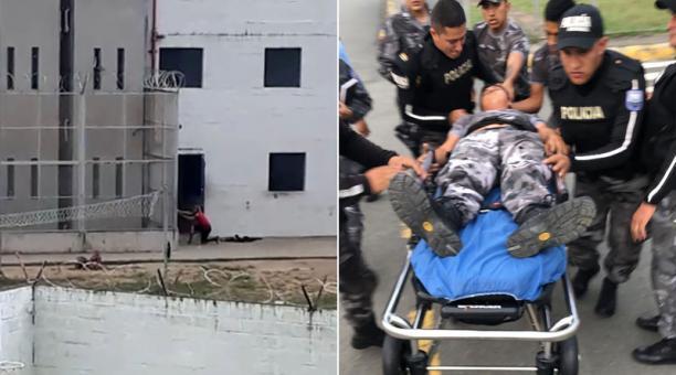 Presos asesinam a cabecilla y retienen a policias en la carcel