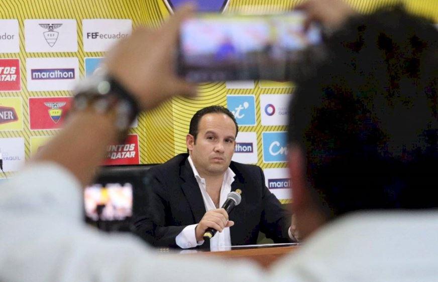 Diagnóstico de Francisco Egas: la Ecuafútbol está grave