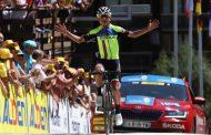 Jefferson Cepeda se llevó la última etapa del Tour del Porvenir