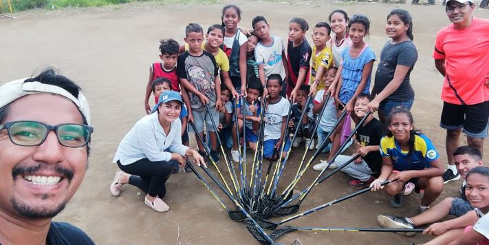 IFF KIDS WITH STICKS WINNERS PRESENTED: RED FLOORBALL ECUADOR