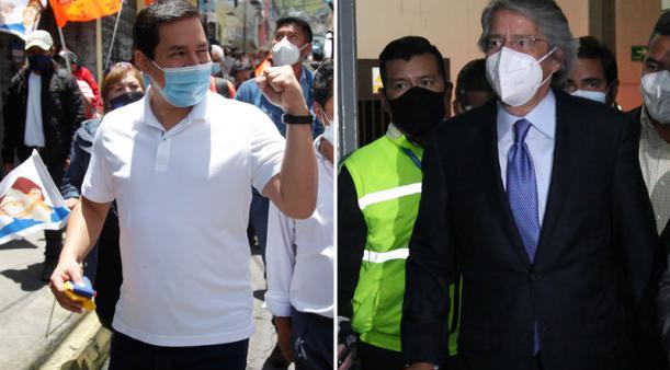 El eje económico marcará el debate entre Andrés Arauz y Guillermo Lasso