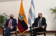 Canciller Mauricio Montalvo sobre Nicaragua: 'La posición de Ecuador va en la adhesión del respeto y a la vigencia de los derechos humanos'